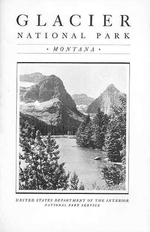 glacier national park montana map pdf