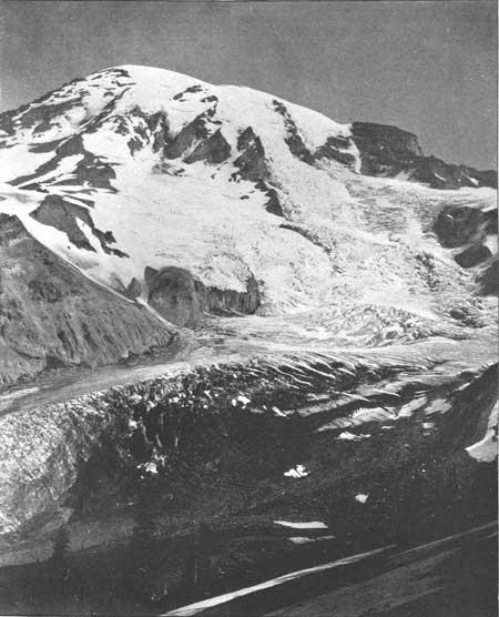 usgs  glaciers of mount rainier  rocks of mount rainier