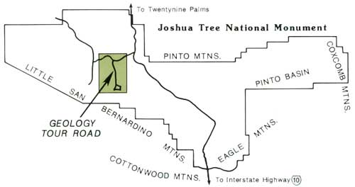 SelfGuided Geologic Tour in Joshua Tree National Monument
