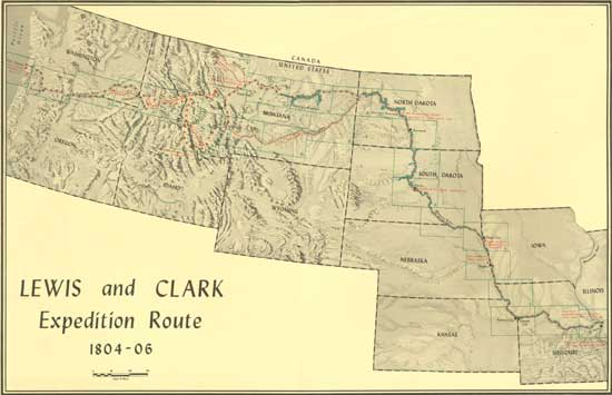 an introduction to the history of the lewis and clark expedition Lewis and clark, together with their team of over 40 men, began their expedition at the city of st louis on may 14, 1804 they packed lots of equipment for their trip including rifles, food, and warm clothing.
